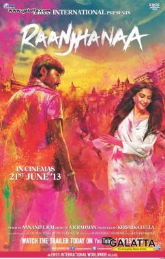 Raanjhanaa poster